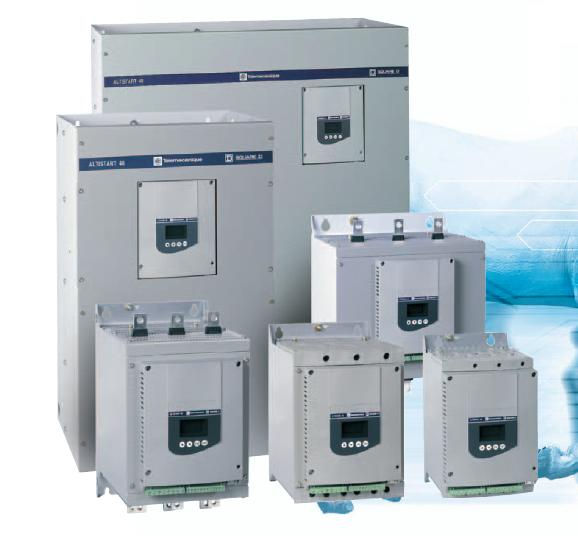 Soft starters: Soft starters for pumps and fans 4 kW to 1200 kW Altistart 48