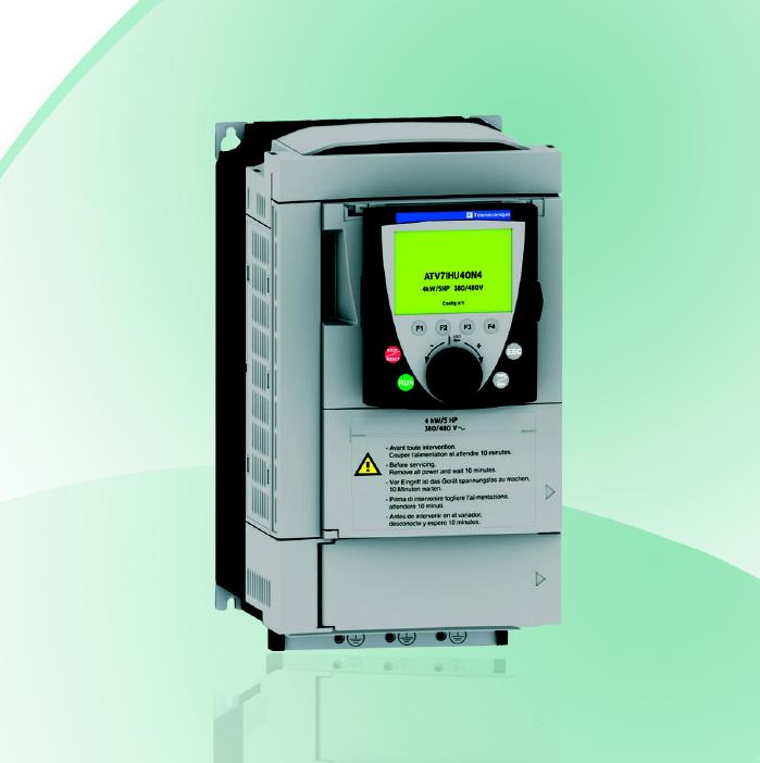 Variable speed drives: Drives for complex, high power machines 0,37 > 500 kW Altivar 71